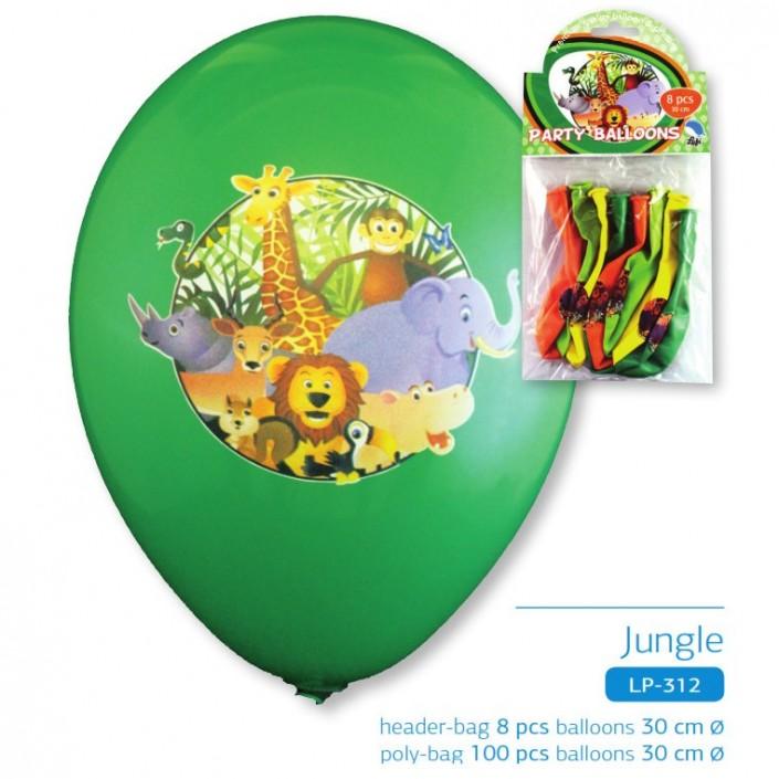 jungle quadry ballon