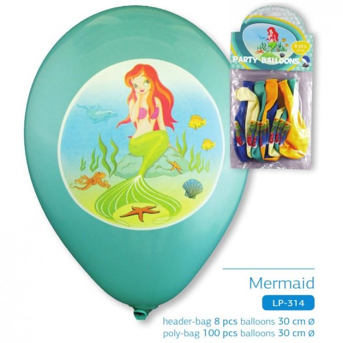 mermaid party ballon